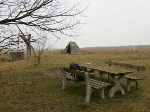 Mittagspause im Nationalpark.