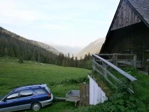 Von der Schwaberger Hütte in den Bretsteingraben.
