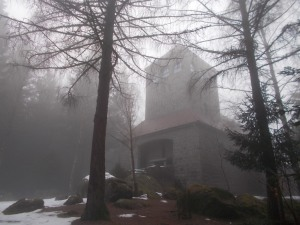 Die Kapelle im Fronwald.