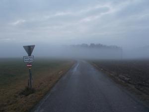 Der Nebel lichtet sich wieder.