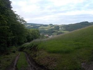 Hinunter nach Schwarzenbach.