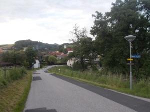 Und am Tagesziel in Schwarzenbach.