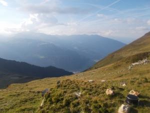 Ein Blick retour ins Zillertal.