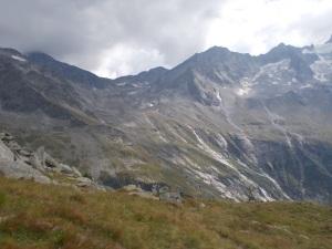 Erster Blick zur Kasseler Hütte.