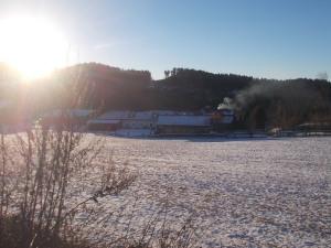 Der Hiaslbauer am Fuß des Braunbergs.