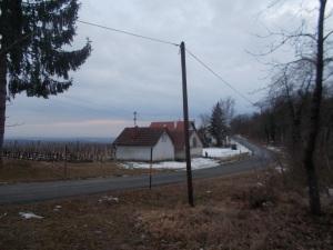 Abkürzer hinter mir. Am Ende der Siedlung am Eisenberg.